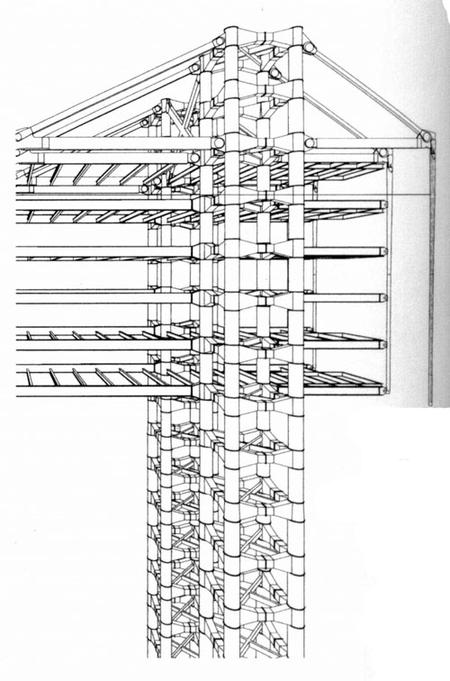 structural elements of hsbc by norman foster