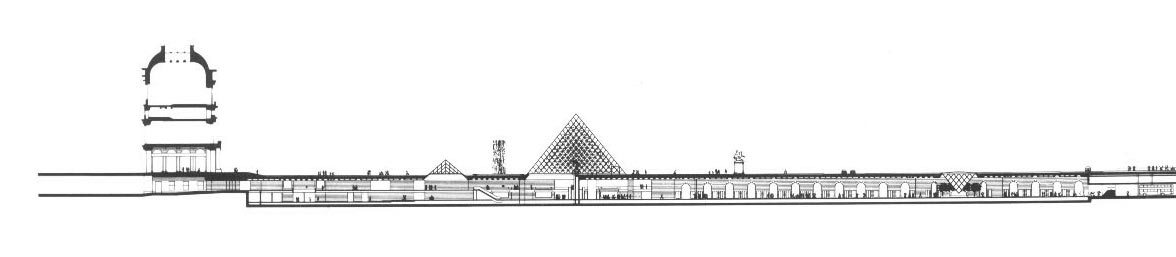 section1 louvre I M Pei