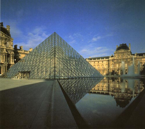 Louvre by I M Pei><br />View 1<br /><br /><img src=